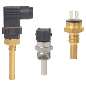 bimetallic temperature switch / for heating and cooling