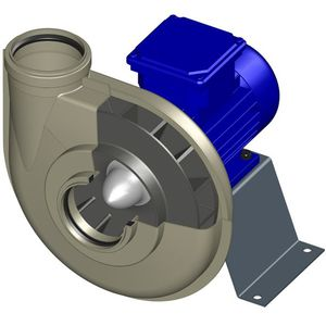 centrifugal fan / ventilation / compact / industrial