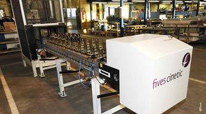 pallet conveyor / parts / modular / accumulation