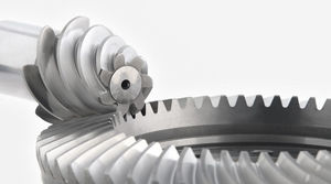 bevel gear / spiroid / precision / ground