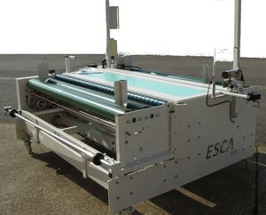 fabric inspection machine with reconditioning