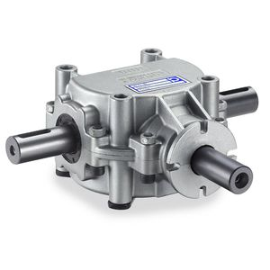 90° angle gearbox / aluminum / for agricultural machinery