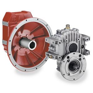 helical gear reducer / right angle