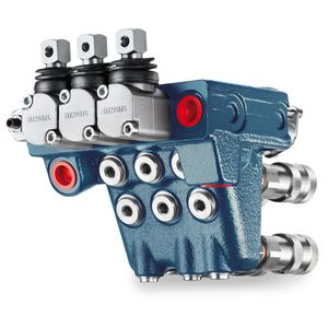 electro-hydraulic hydraulic directional control valve / monobloc
