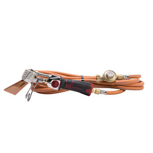 roof tile soldering iron / gas / with hose / with pressure regulator