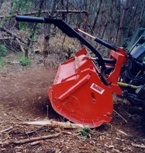 stationary wood chipper