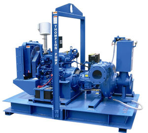slurry pump / electric / self-priming / centrifugal