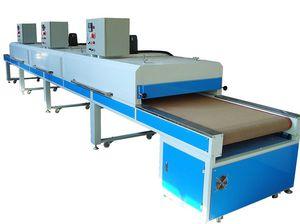 screen printing drying tunnel