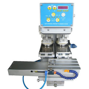 pad printing machine with closed ink cup / for the electronics industry / for the pharmaceutical industry / for the food industry