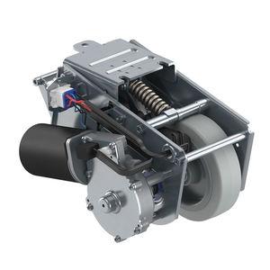 fixed caster / base plate / motorized