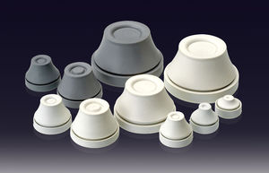 conical plug / threaded / EPDM / protection