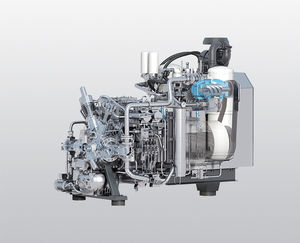 water-cooled compressor / air / nitrogen / natural gas