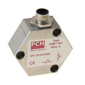 2-axis accelerometer / MEMS / capacitive / vibrating