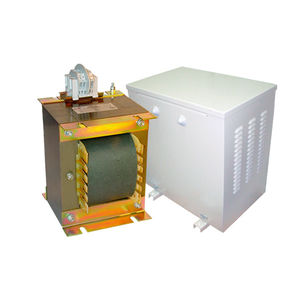 isolation transformer / dry / laminated / quick-connect