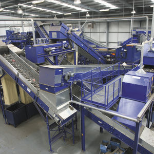 WEEE recycling plant / single-step