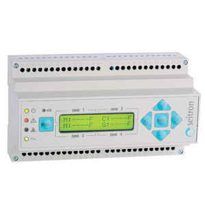 DIN rail mounting gas detection control unit