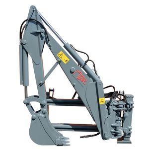 skid steer loader hydraulic backhoe