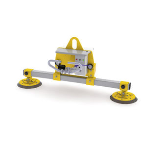 electric vacuum lifting device / glass plate / for sheet metal / for concrete slabs