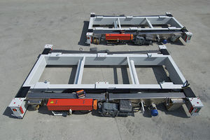 electric self-propelled trailer / for heavy loads / lifting