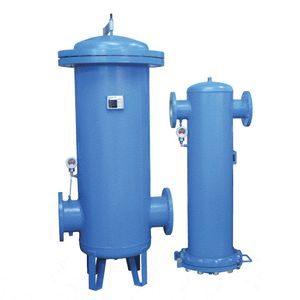 multi-cartridge filter housing / for compressed air / aluminum / for high-pressure applications