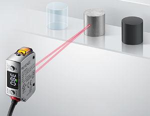 CMOS laser displacement sensor / linear / non-contact / IP68