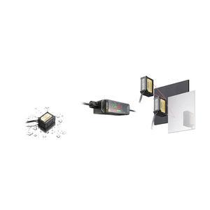 CMOS laser displacement sensor / linear / non-contact / digital