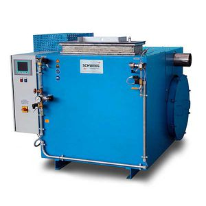 fluidized bed cleaning machine / thermal / pyrolysis / automatic