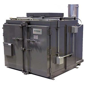thermal cleaning machine