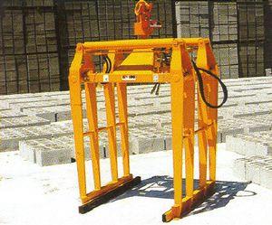 truck crane hydraulic clamp
