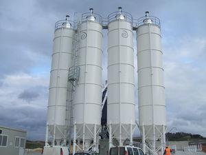 cone-bottom silo