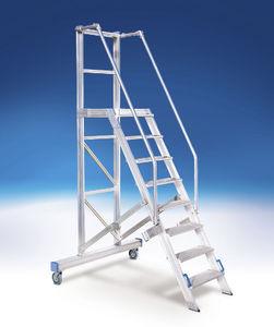 roller step ladder