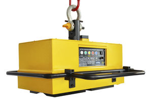 manually switched electro lifting magnet / for sheet metal / battery-operated