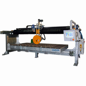 cut-off saw / bridge / for composites / for stone