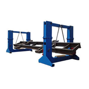 motorized welding positioner / rotary / with lifting device