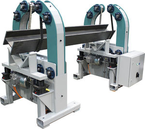 motorized welding positioner / rotary / 2-axis / with lifting device