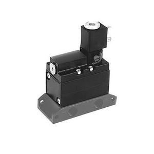 poppet pneumatic directional control valve / electrically-operated / 3/2-way