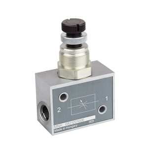 throttle check valve / aluminum
