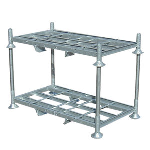 rack with shelves