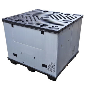 plastic pallet box / storage / transport / handling