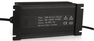 lead-acid battery charger / lithium-ion / open-frame / plug-in