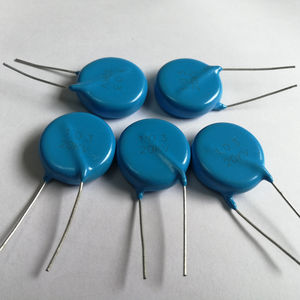 ceramic capacitor / radial / coupling / DC