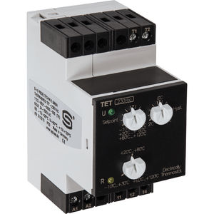 LED temperature controller / programmable / heating