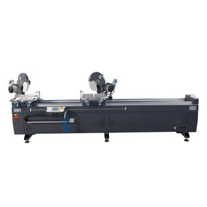 metal double-head miter saw