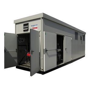 containerized boiler / steam / thermal fluid / superheated water