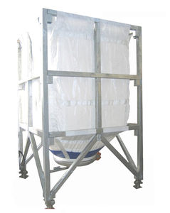 flexible silo / with extractor / for powders / granulates