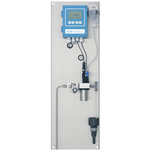 fixed pH meter / in-line / process / with redox indicator