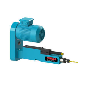 electro-pneumatic drilling unit / single-spindle