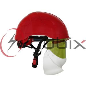 electrician helmet / EN 812 / with visor