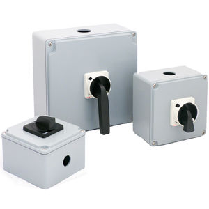 enclosed disconnect switch / aluminum