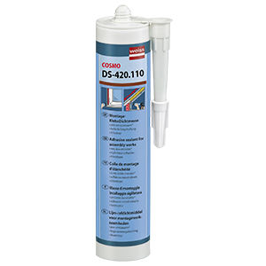 acrylate polymer adhesive / single-component / elastic / dispersion